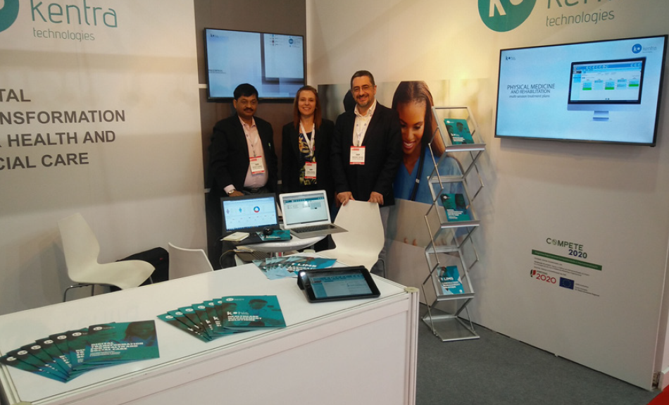 A KENTRA MARCA PRESENÇA NA ARAB HEALTH EXHIBITION AND CONGRESS